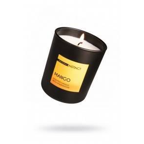 Свеча аромотическая с феромонами Natural Instinct , Манго 180 гр