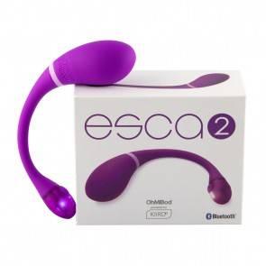 KIIROO Вибратор интерактивный OhMiBod Esca2 for Kiiroo Фиолетовый OhMiBod США
